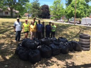 ohio ave end of cleanup day june 2016